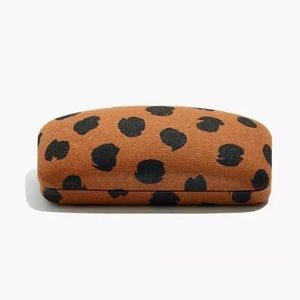 Madewell Painted Spots Printed Sunglass Case